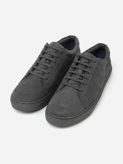 grey-suede-leather-sneakers -1